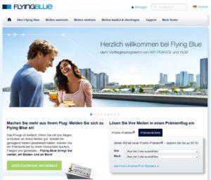 Air France KLM FlyingBlue