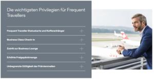 Frequent Traveller Status - Vorteile Miles More