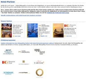 MileagePlus Hotel Partner