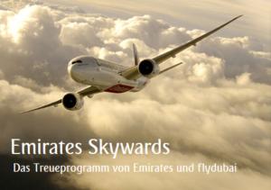 Emirates Skywards Das Treueprogramm von Emirates und flydubai